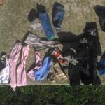 Směs ponožek, některé jsou i do páru